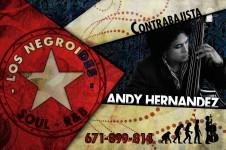 Tarjeta Andy Hernández